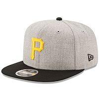 Adult New Era Pittsburgh Pirates 9FIFTY Heather Action Snapback Cap