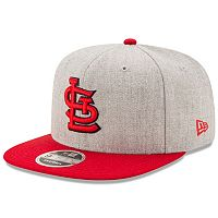 Adult New Era St. Louis Cardinals 9FIFTY Heather Action Snapback Cap