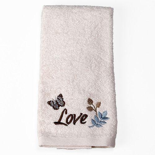Saturday Knight, Ltd. Faith Fingertip Towel