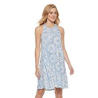 Women's SONOMA Goods for Life™ Print Racerback Tank Dress