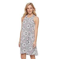 Women's SONOMA Goods for Life™ Print Racerback Tank Dress