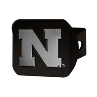 FANMATS Nebraska Cornhuskers Black Trailer Hitch Cover