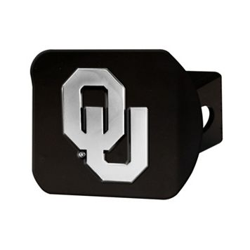 FANMATS Oklahoma Sooners Black Trailer Hitch Cover