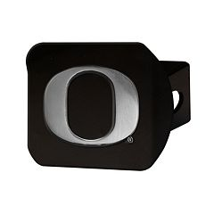 FANMATS Oregon Ducks Black Trailer Hitch Cover