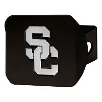 FANMATS USC Trojans Black Trailer Hitch Cover