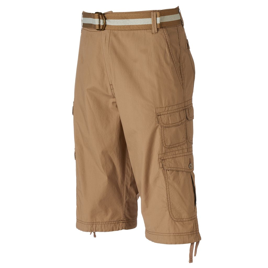Men's Plugg Messenger-Length Cargo Shorts