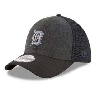 Adult New Era Detroit Tigers 39THIRTY Heathered Neo Flex-Fit Cap