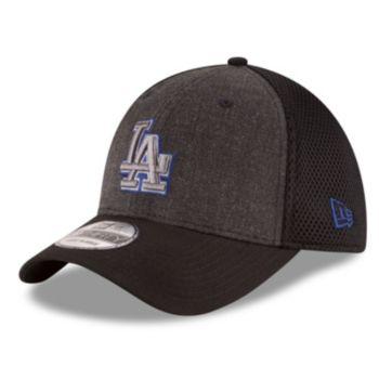 Adult New Era Los Angeles Dodgers 39THIRTY Heathered Neo Flex-Fit Cap