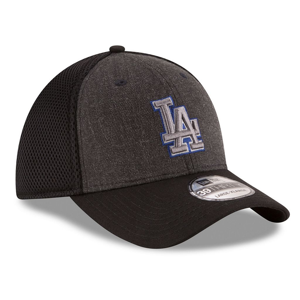 Adult New Era Los Angeles Dodgers 39THIRTY Heathered Neo Flex-Fit Cap