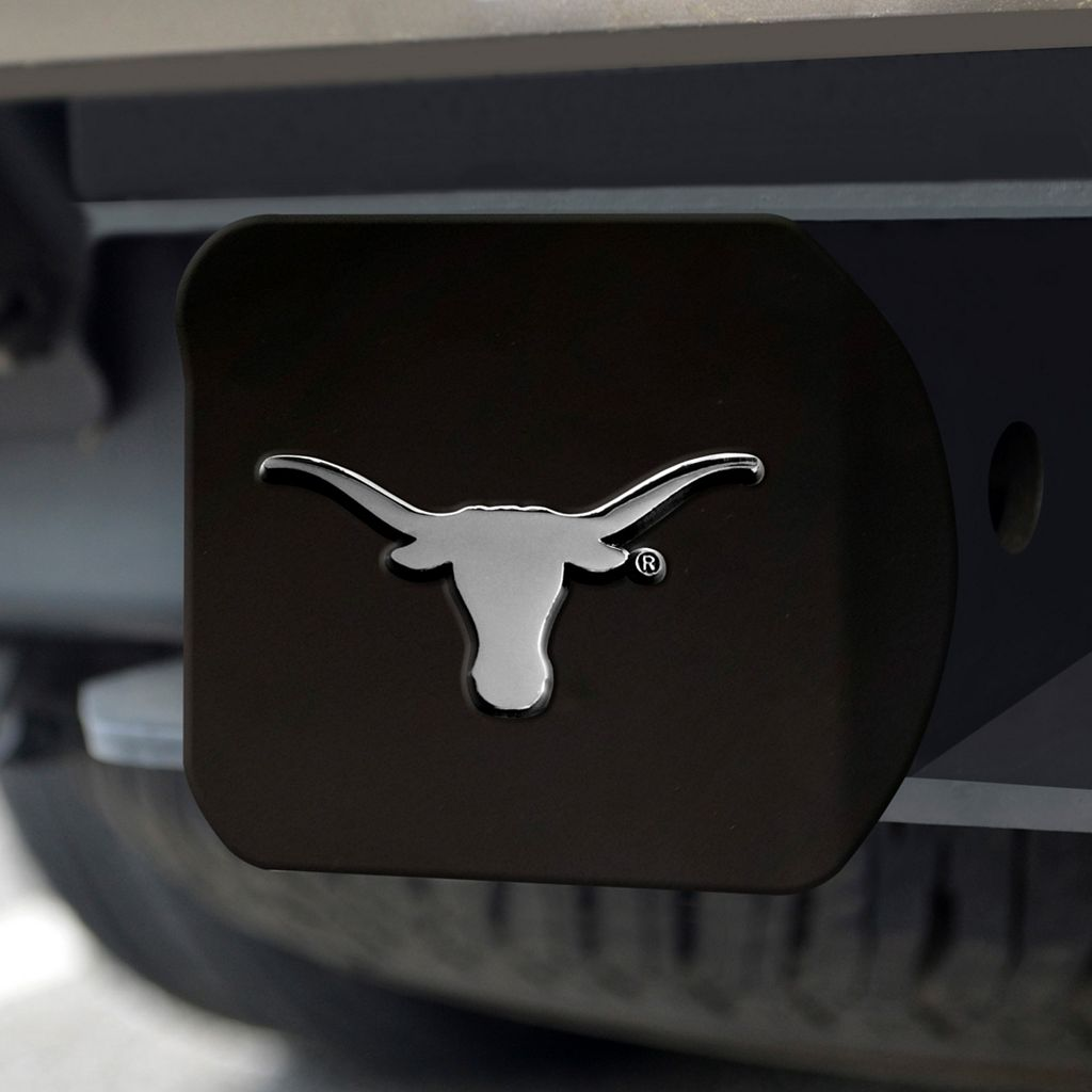 FANMATS Texas Longhorns Black Trailer Hitch Cover