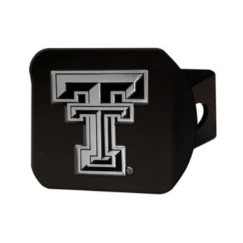 FANMATS Texas Tech Red Raiders Black Trailer Hitch Cover