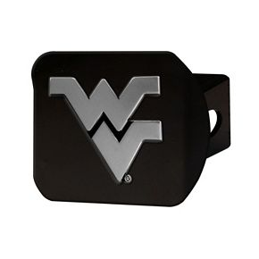 FANMATS West Virginia Mountaineers Black Trailer Hitch Cover
