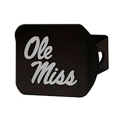 FANMATS Ole Miss Rebels Black Trailer Hitch Cover