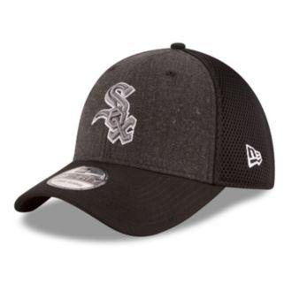 Adult New Era Chicago White Sox 39THIRTY Heathered Neo Flex-Fit Cap