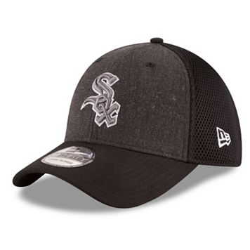 Adult New Era Chicago White Sox 39THIRTY Heathered Neo Flex-Fit Cap