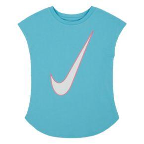 Girls 4-6x Nike Swoosh Tee
