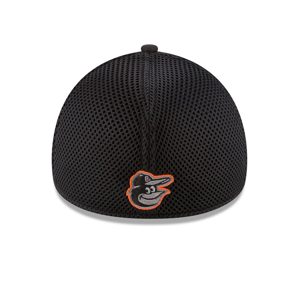 Adult New Era Baltimore Orioles 39THIRTY Heathered Neo Flex-Fit Cap