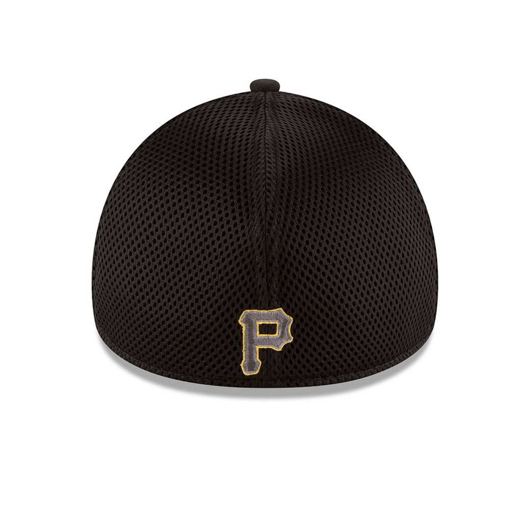 Adult New Era Pittsburgh Pirates 39THIRTY Heathered Neo Flex-Fit Cap