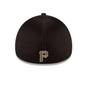 Adult New Era Pittsburgh Pirates 39THIRTY Heathered Neo Flex-Fit Cap