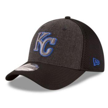 Adult New Era Kansas City Royals 39THIRTY Heathered Neo Flex-Fit Cap