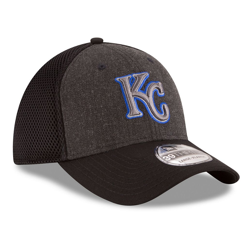 Adult New Era Kansas City Royals 39THIRTY Heathered Neo Flex-Fit Cap