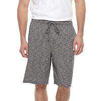 Big & Tall Croft & Barrow® Slubbed Knit Jams Shorts