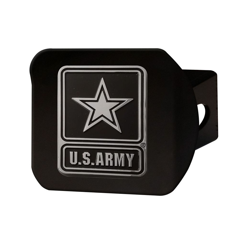 FANMATS United States Army Black Trailer Hitch Cover