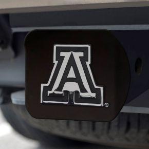 FANMATS Arizona Wildcats Black Trailer Hitch Cover