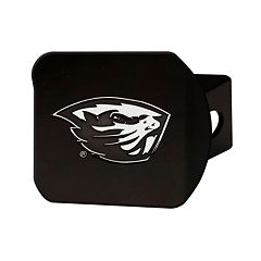 FANMATS Oregon State Beavers Black Trailer Hitch Cover