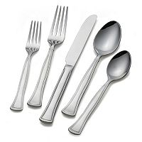 Gourmet Basics Chadwick Bead 22-pc. Flatware Set