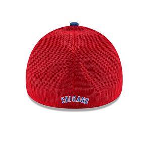 Adult New Era Chicago Cubs 39THIRTY Team Brazen Flex-Fit Cap