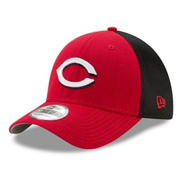 Adult New Era Cincinnati Reds 39THIRTY Team Brazen Flex-Fit Cap