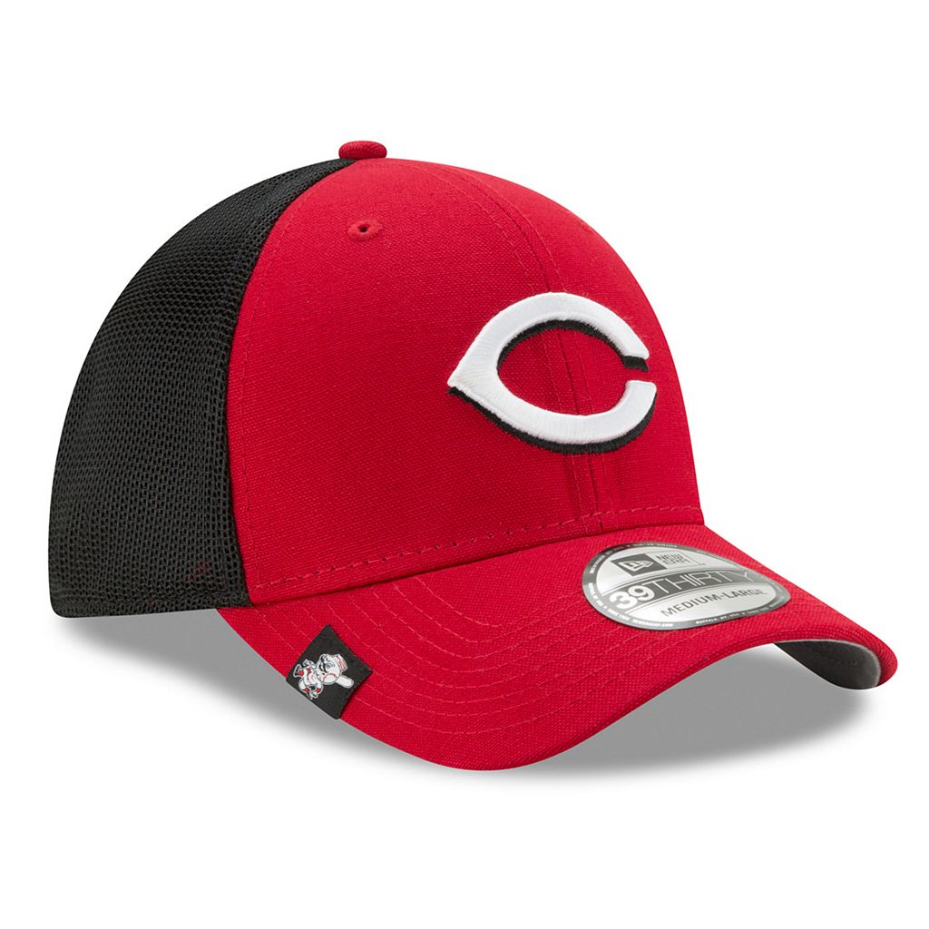 Adult New Era Cincinnati Reds 39THIRTY Team Brazen Flex-Fit Cap