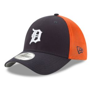 Adult New Era Detroit Tigers 39THIRTY Team Brazen Flex-Fit Cap