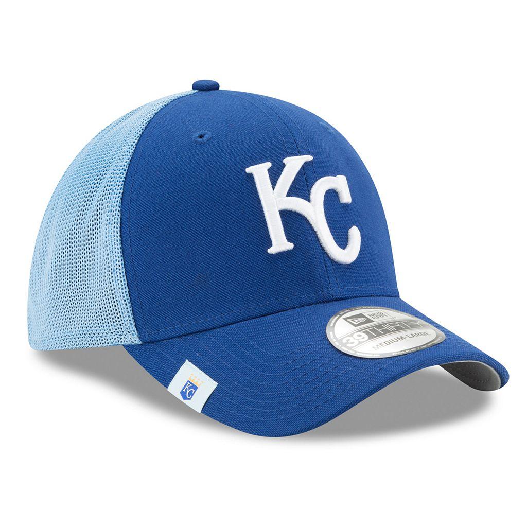 Adult New Era Kansas City Royals 39THIRTY Team Brazen Flex-Fit Cap
