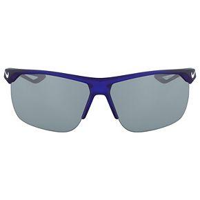 Men's Nike Trainer Semirimless Sport Wrap Sunglasses