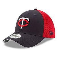 Adult New Era Minnesota Twins 39THIRTY Team Brazen Flex-Fit Cap