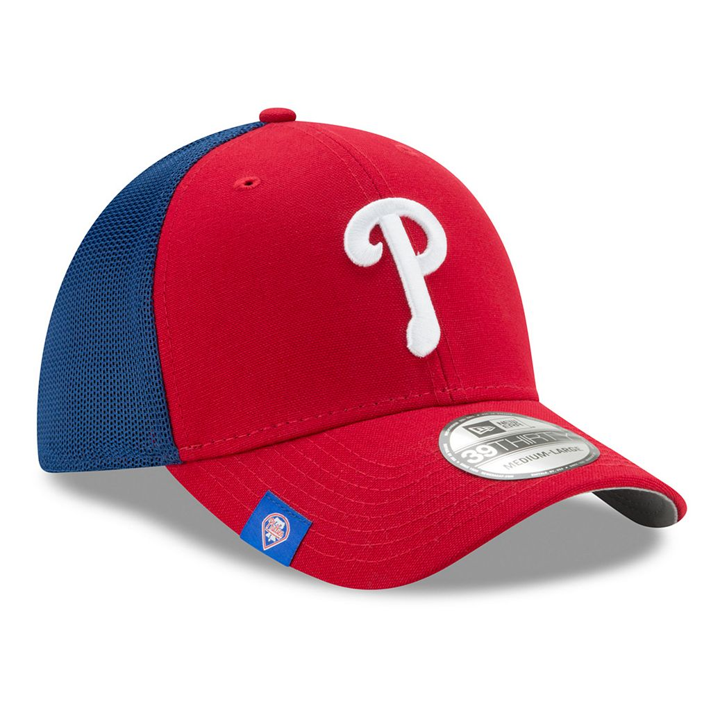 Adult New Era Philadelphia Phillies 39THIRTY Team Brazen Flex-Fit Cap