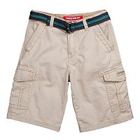 Boys 8-20 Unionbay Alfie Belted Cargo Shorts