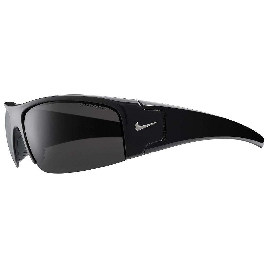 Men's Nike Diverge Semirimless Wrap Sunglasses