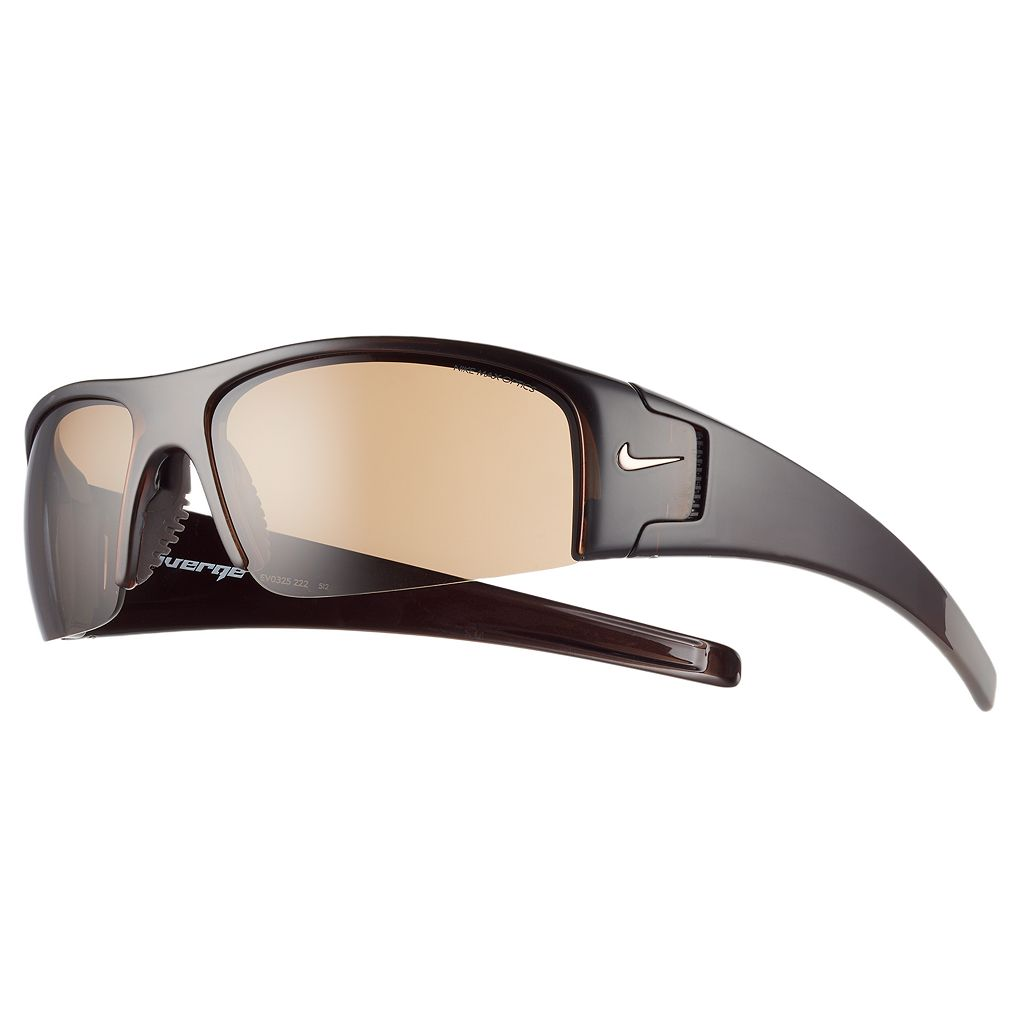 Men's Nike Diverge Semirimless Wrap Sunglasses