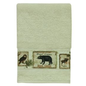 Bacova Lodge Memories Hand Towel