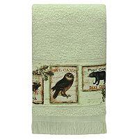 Bacova Lodge Memories Fingertip Towel