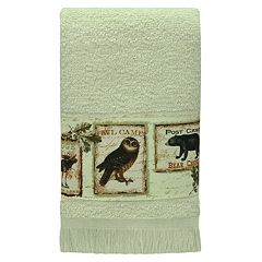 Bacova Lodge Memories Fingertip Towel