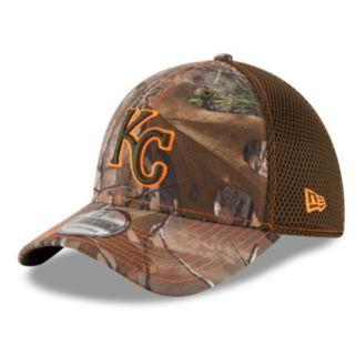 Adult New Era Kansas City Royals 39THIRTY Realtree Flex-Fit Cap