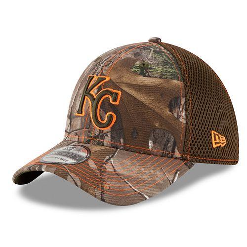 premium selection 25cd0 67087 Adult New Era Kansas City Royals 39THIRTY Realtree Flex-Fit Cap