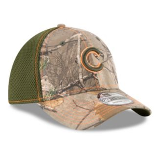 Adult New Era Chicago Cubs 39THIRTY Realtree Flex-Fit Cap