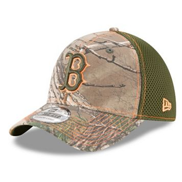 Adult New Era Boston Red Sox 39THIRTY Realtree Flex-Fit Cap