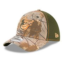 Adult New Era Baltimore Orioles 39THIRTY Realtree Flex-Fit Cap