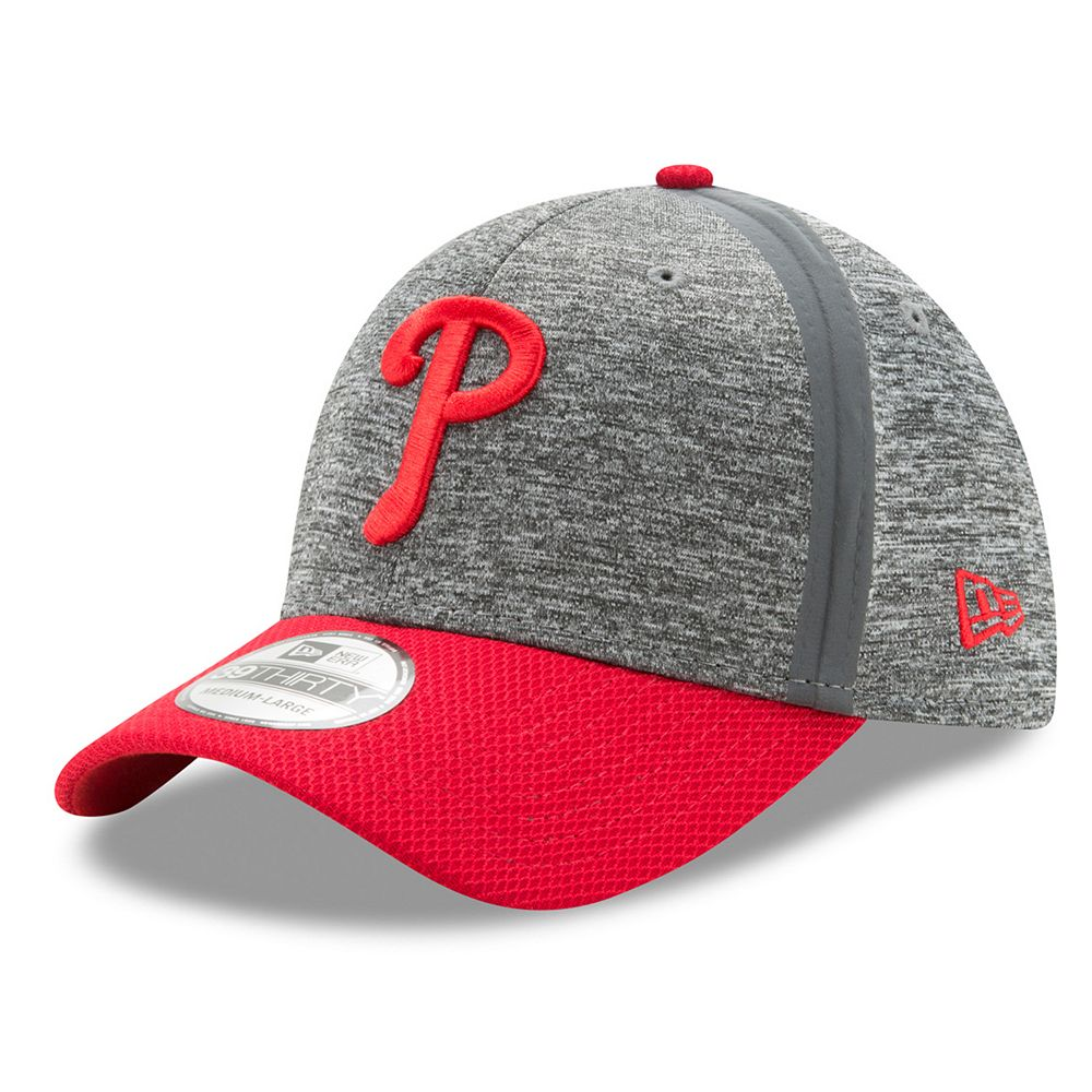 Adult New Era Philadelphia Phillies 39THIRTY Clubhouse Flex-Fit Cap 9b80a68476e